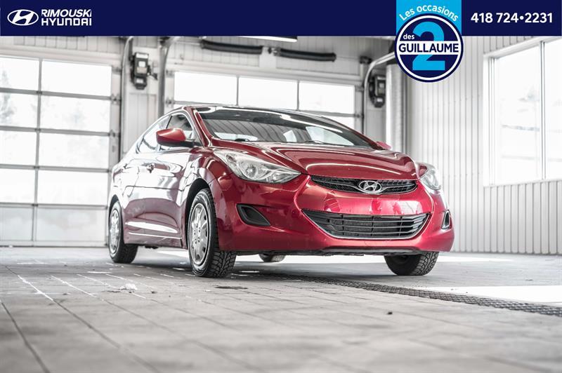 Hyundai Elantra 2011 GL chez Rimouski Hyundai