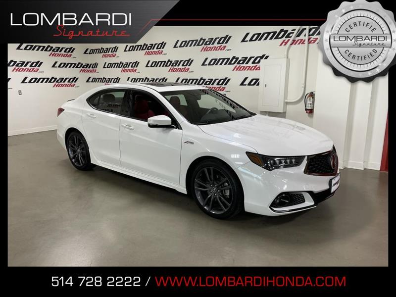 Acura TLX 2020 A-Spec TECH|NAVI|CUIR ROUGE|TO