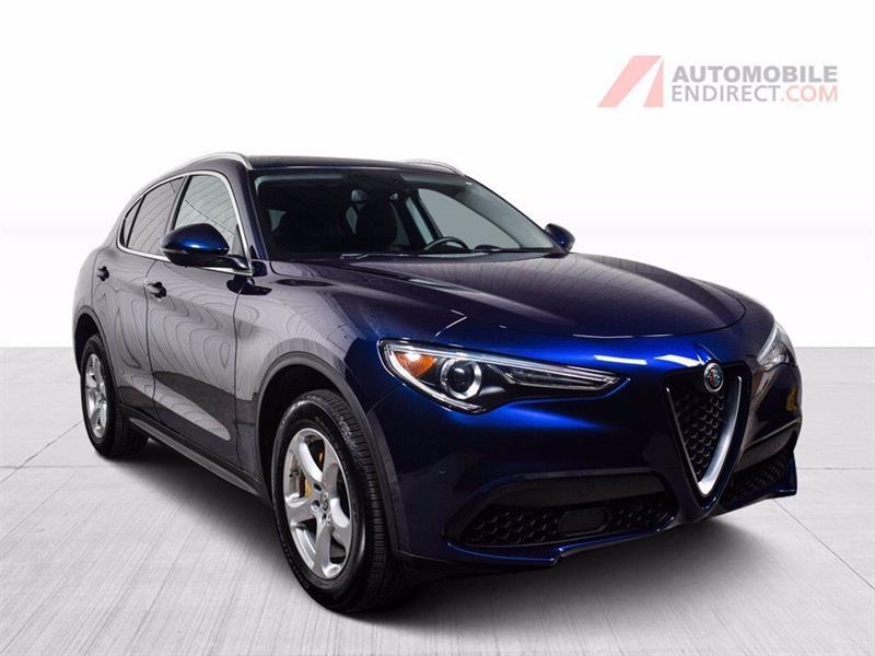 Alfa Romeo Stelvio 2018 AWD Cuir Brun GPS Sièges Chauf