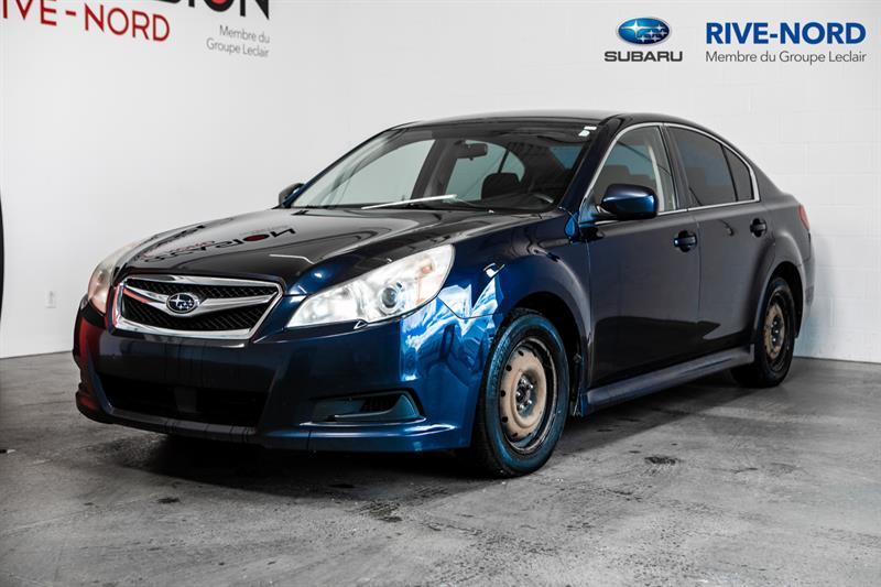 Subaru Legacy 2012 4x4 4 cyl. GARANTIE 1 AN