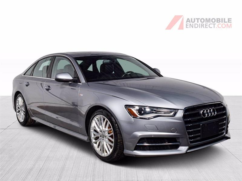 Audi A6 2017 Progressiv Quattro Cuir Toit G