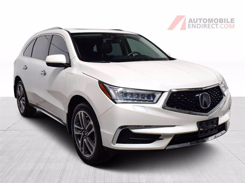Acura MDX 2018 Navi Package SH AWD Cuir Brun