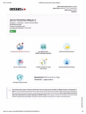 toyota Prius c 2019 - 4