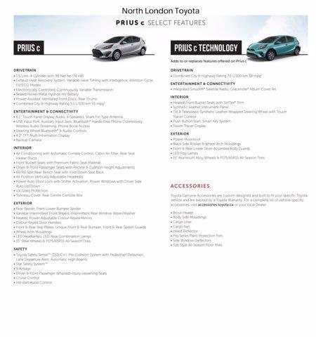 toyota Prius c 2019 - 5