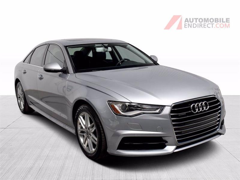 Audi A6 2017 Progressiv Quattro Cuir Toit S