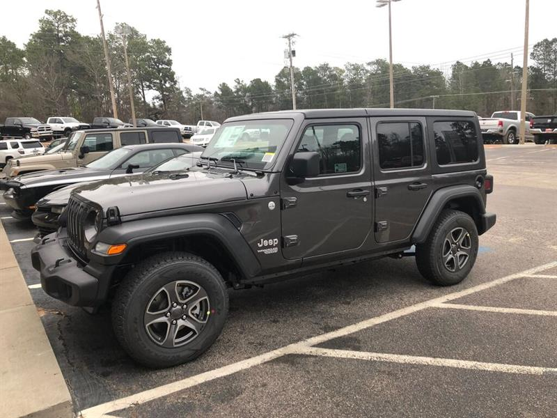 Jeep Wrangler 2021 Sport S Unlimited - 2 TOITS