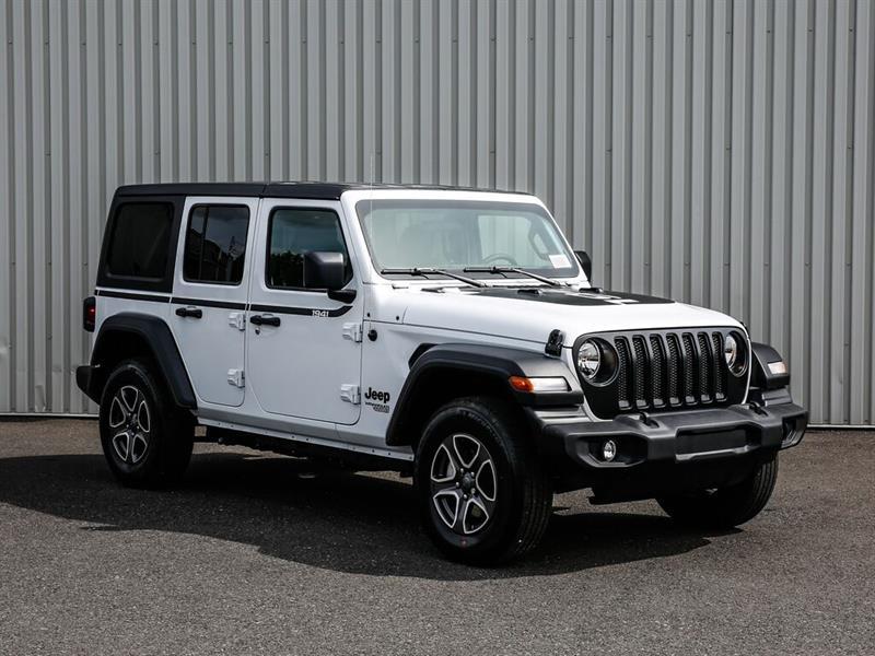 Jeep Wrangler 2021 Sport S Unlimited - Ens temps