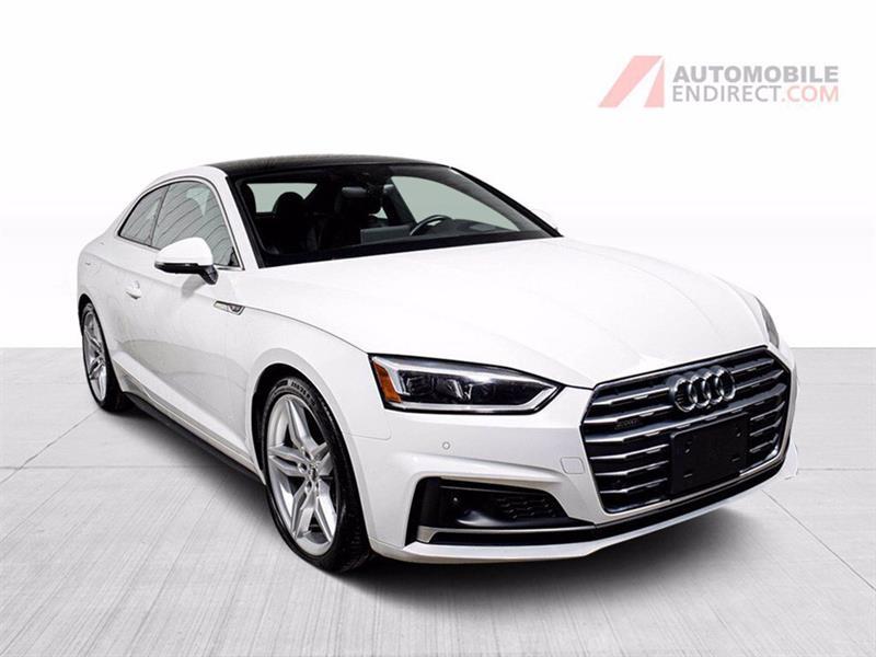Audi A5 2018 TECHNIK S/LINE COUPE CUIR TOIT