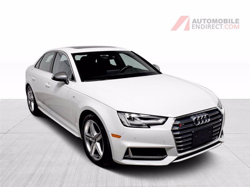 Audi S4 2018 S4 Quattro Cuir Toit GPS Siège