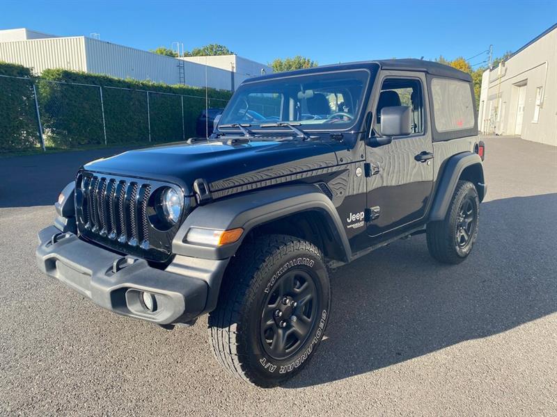 Jeep Wrangler 2019 Sport 4x4 +  Garantie prolongé