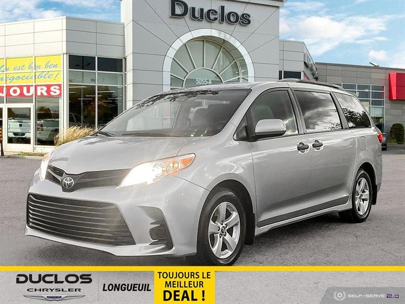 Toyota Sienna 2020 L 7 PASSAGERS A/C 3 ZONES CRUI