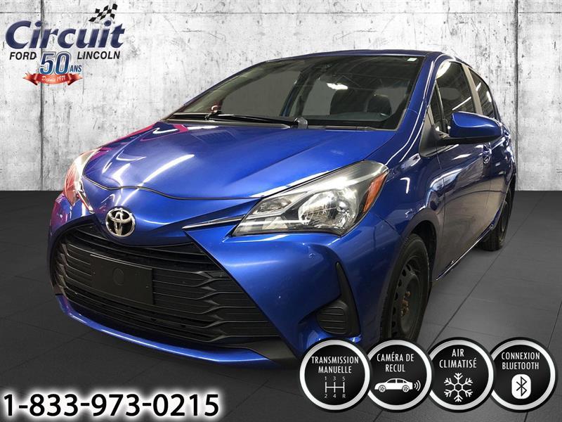 Toyota Yaris 2018 TOYOTA YARIS HATCHBACK, CAMERA
