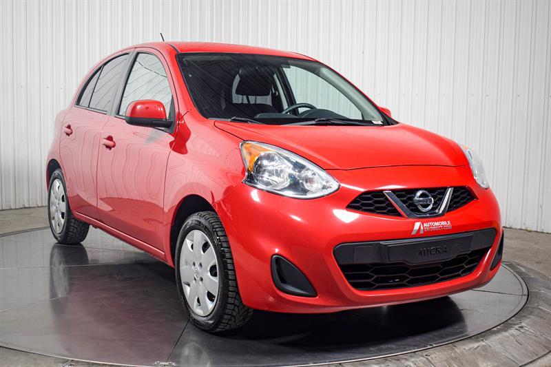 Nissan Micra 2017 SV Manuelle A/C Bluetooth