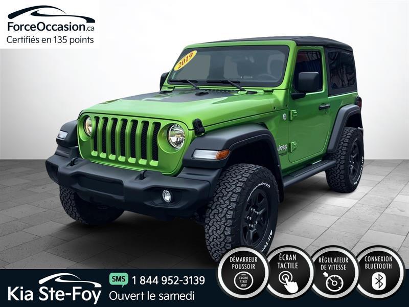Jeep Wrangler 2019 SPORT 4X4 *V6 *BOUTON POUSSOIR