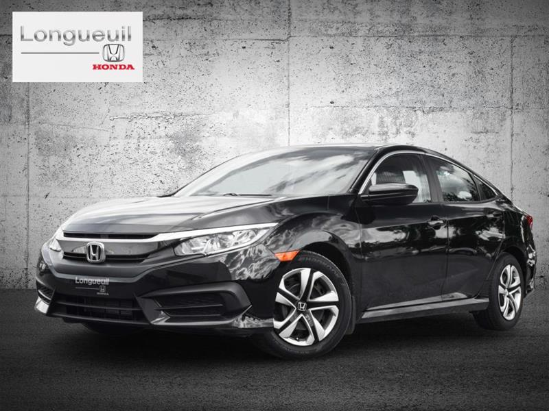 Honda Civic 2016 4 portes, boîte manuelle, LX
