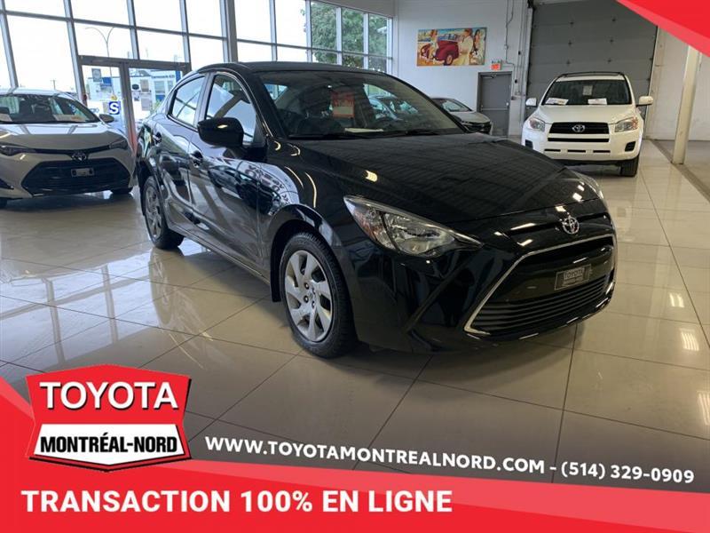 Toyota Yaris 2018 Manuelle, berline, 4 portes