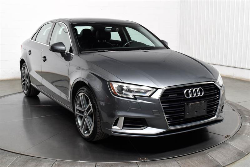 Audi A3 2018 Progressiv Quattro Cuir Toit S