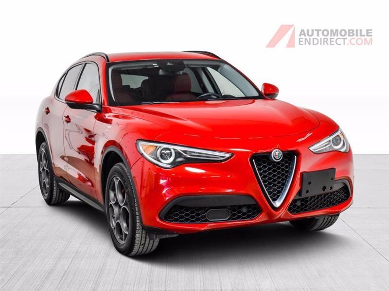 Alfa Romeo Stelvio 2018 Sport AWD Cuir GPS Sièges Chau