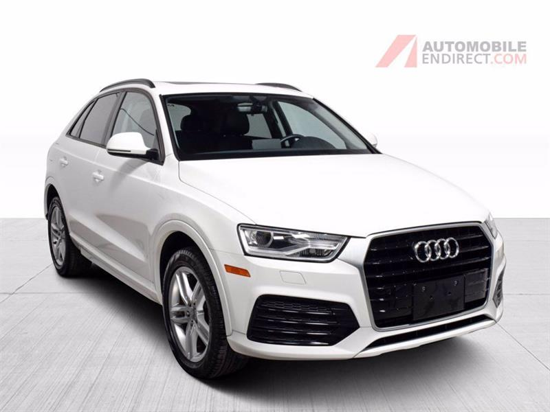 Audi Q3 2018 Komfort Cuir Toit Pano GPS Siè