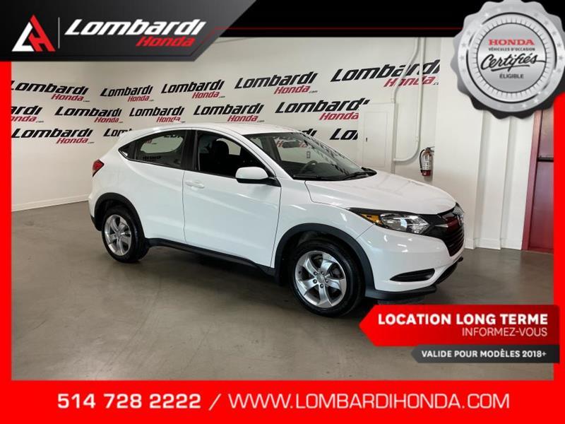 Honda HR-V 2016 LX|MANUELLE|CAM|