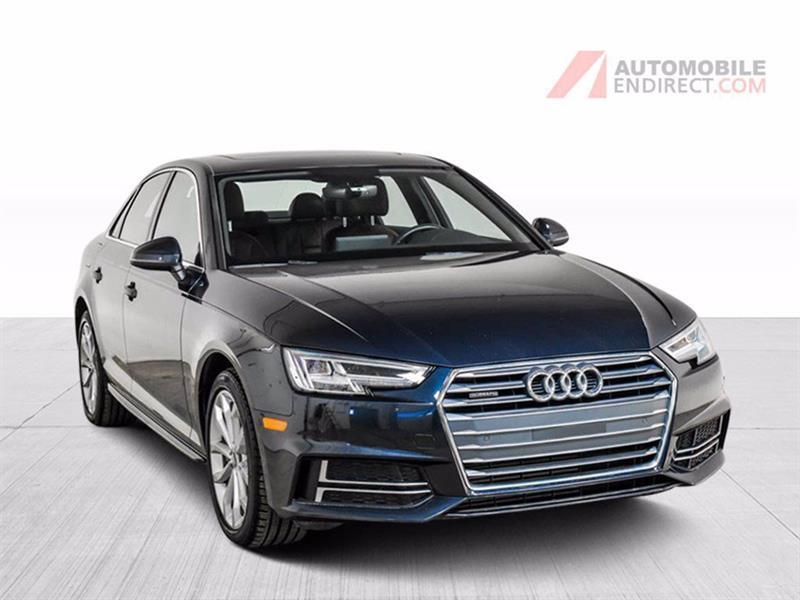 Audi A4 2018 Progressiv Quattro Cuir Toit G
