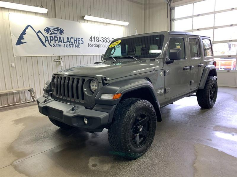 Jeep Wrangler 2019 Unlimited Sport 4 Portes Trail