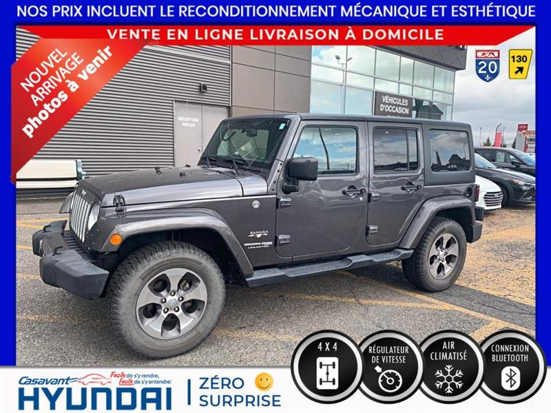 2018 Jeep  Wrangler Sahara 4x4