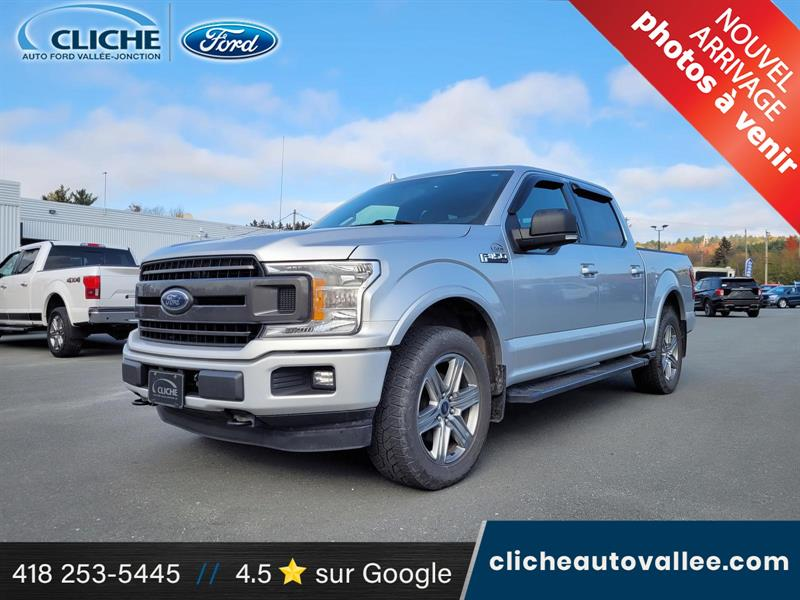 Ford F-150 2018 XLT, SPORT, CREW, 20 PCES, ECO