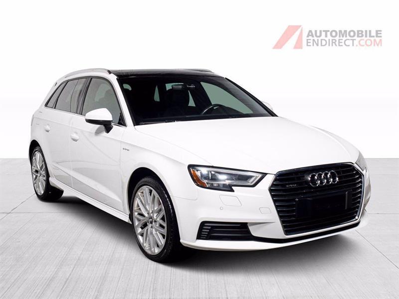 Audi A3 2017 E-Tron Technik Cuir Toit GPS S