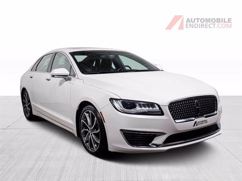 Lincoln MKZ 2018 Select AWD Cuir Toit GPS Siège