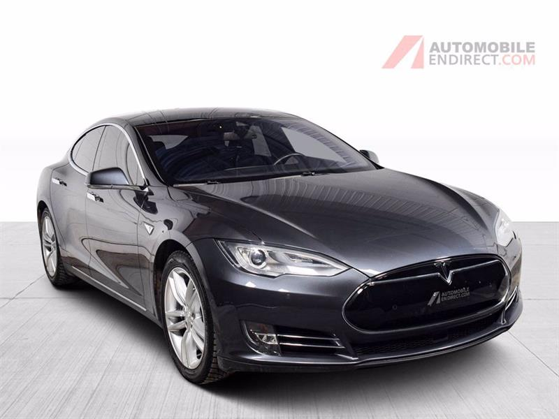 2015 Tesla Model S 85D Électrique Cuir Toit GPS S