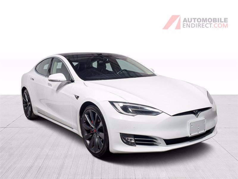 2016 Tesla Model S P100D AWD Électrique Cuir Toit