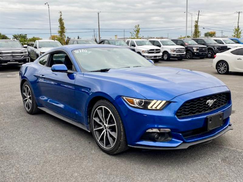 Ford Mustang 2017 ECOBOOST FASTBACK A/C MAGS CAM
