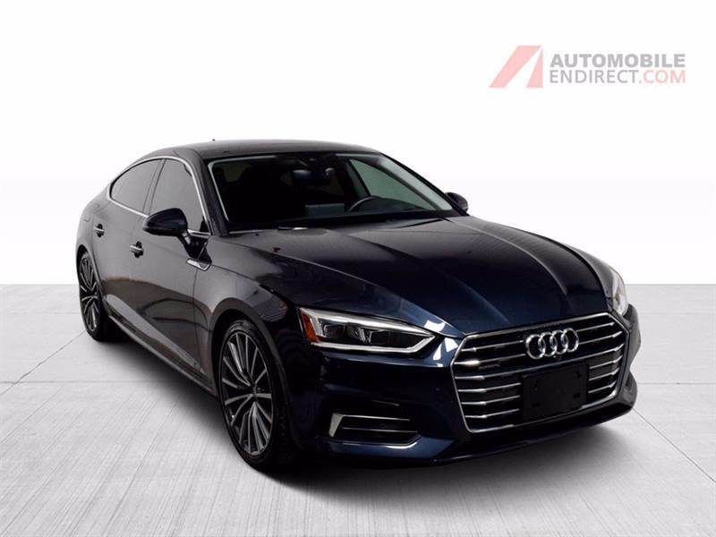 Audi A5 2018 Technik Sportback Quattro Cuir