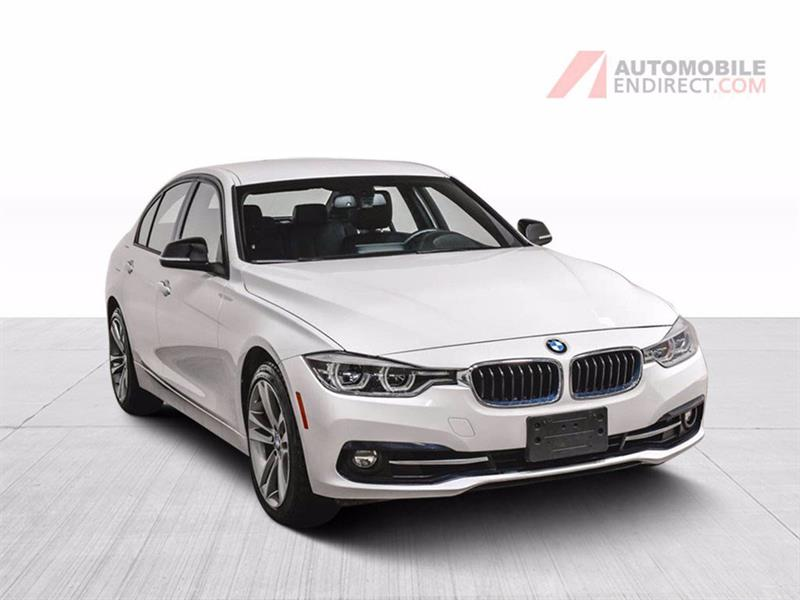 2018 BMW 3 Series 330i xDrive Sportline Cuir GPS