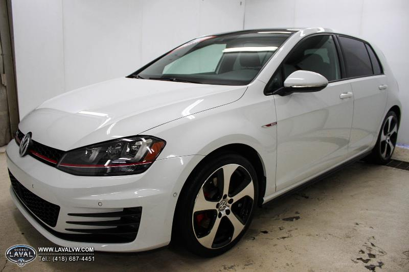 2016 volkswagen golf gti usag concession vw qu bec for Golf interieur laval