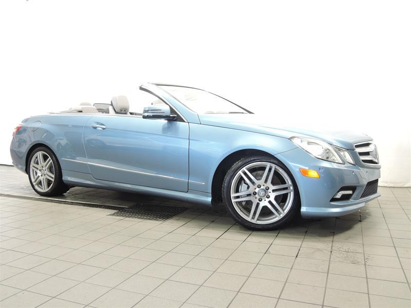 2011 mercedes benz e550 cabriolet used for sale in mirabel for 2011 mercedes benz e550 coupe