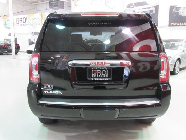 gmc yukon denali 4wd navi tv dvd 2015 occasion vendre saint eustache chez le roi du camion. Black Bedroom Furniture Sets. Home Design Ideas