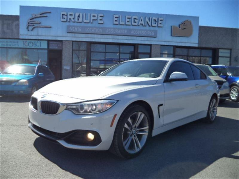 2014 Bmw 428 I Xdrive Gps Camera Recule Used For Sale In Montr 233 Al At Elegance Leasing
