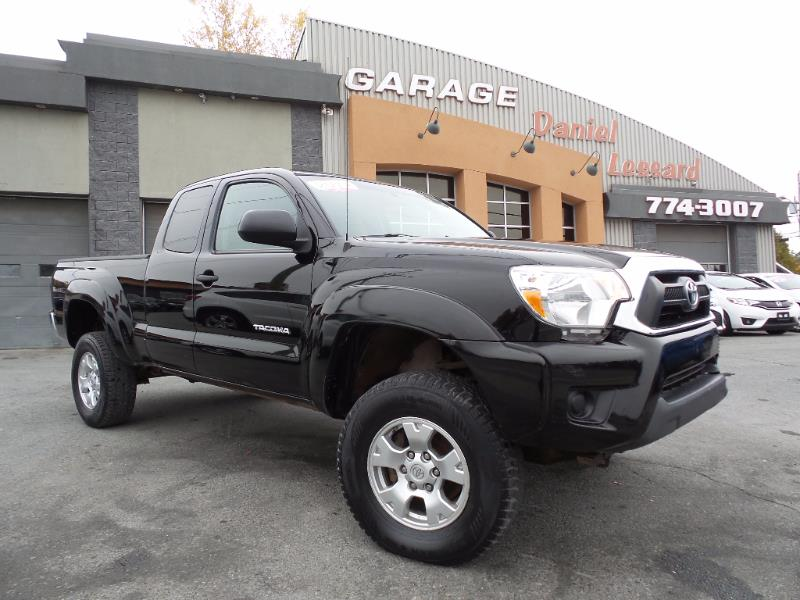 Toyota tacoma 4x4 king cab sr5 accident l ger 2012 for Garage de 4x4