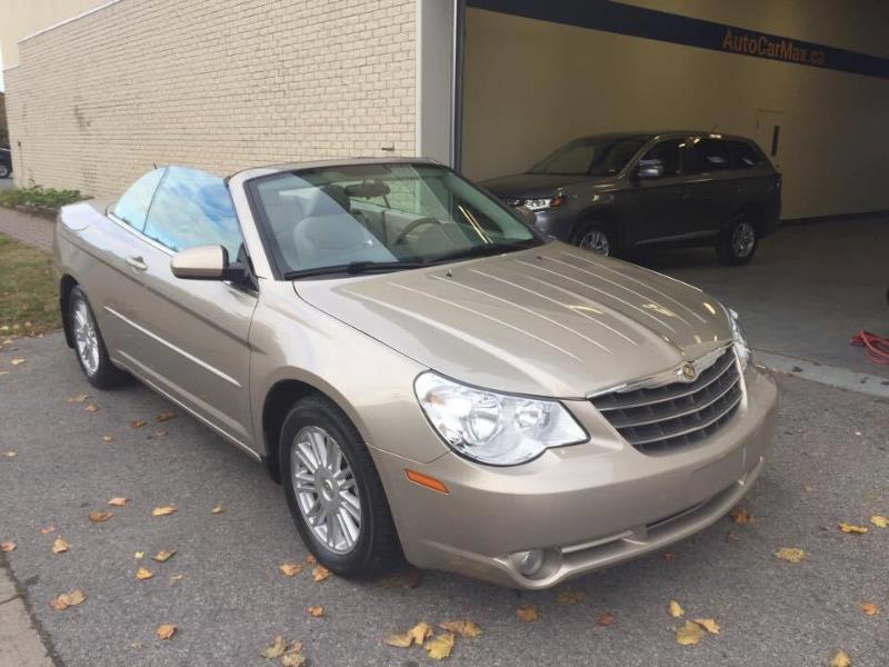 Chrysler Sebring Convertible Touring Impécable! 1 propriétaire! 2008 Unknown automatic of 130 000 km