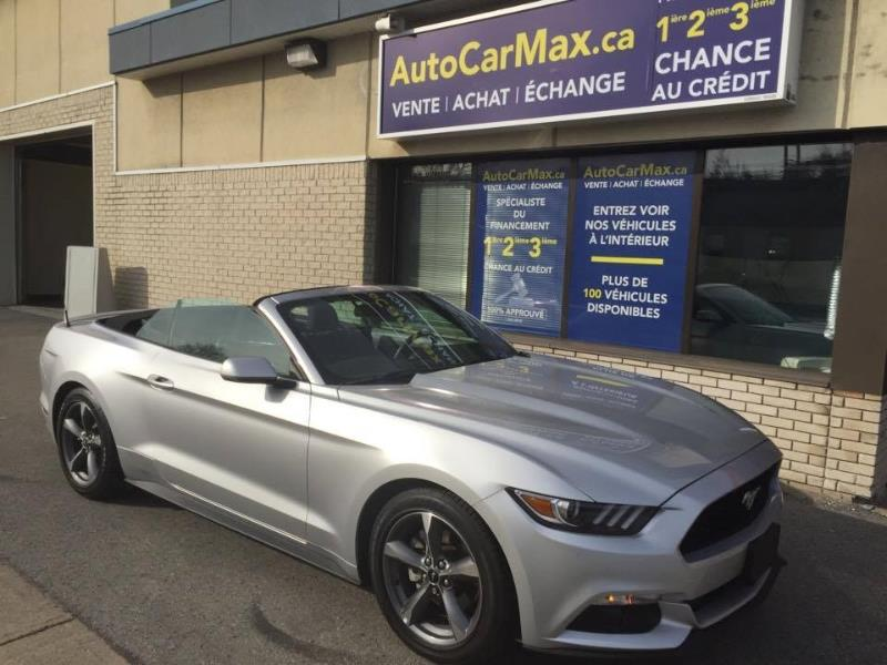 Ford Mustang V6 Convertible-Cam de Recul- CONDITION SHOWROOM! 2016 Inconnue automatique de 15 000 km