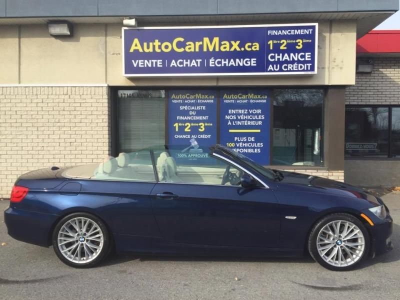 Bmw 3 series Convertible Hardtop Navi-Condition Showroom!! 2011 Bleu automatique de 77 000 km