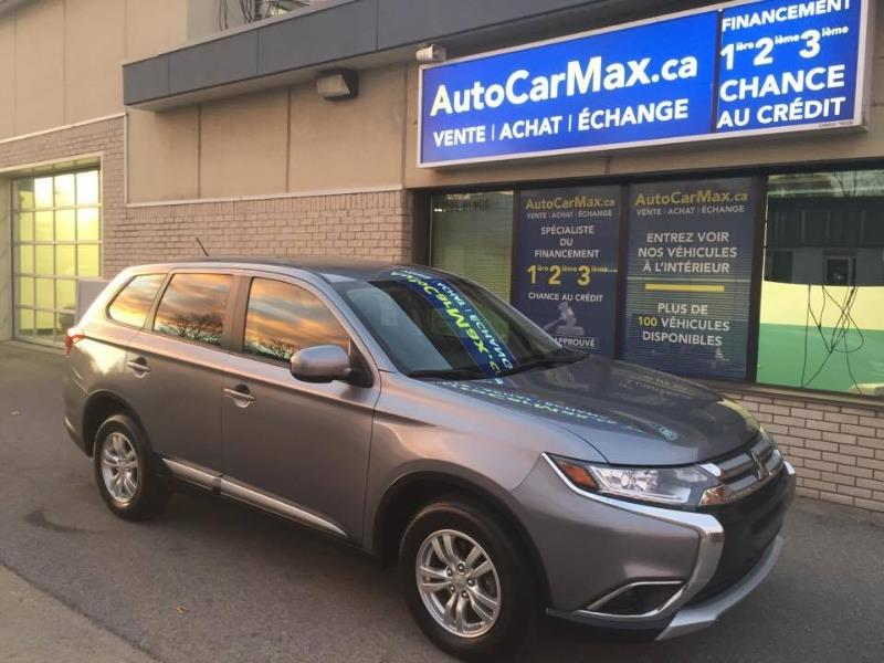 Mitsubishi Outlander AWC ES Blutooth Comme Neuf! LE MOIN CHER DU MARCHÉ 2016 Unknown automatic of 44 000 km