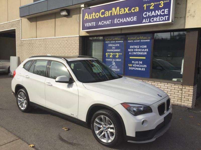 Bmw X1 AWD TOIT PANO-COMME NEUF! LE MOINS CHER DU MARCHÉ 2015 White automatic of 42 000 km