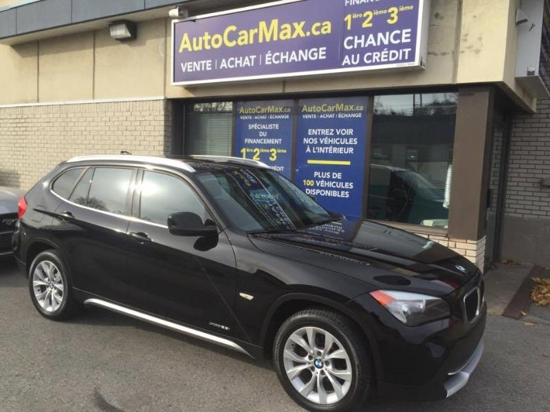 Bmw X1 AWD-TOIT PANO-IMPÉCABLE! SPÉCIAL!! 2012 Black automatic of 71 000 km