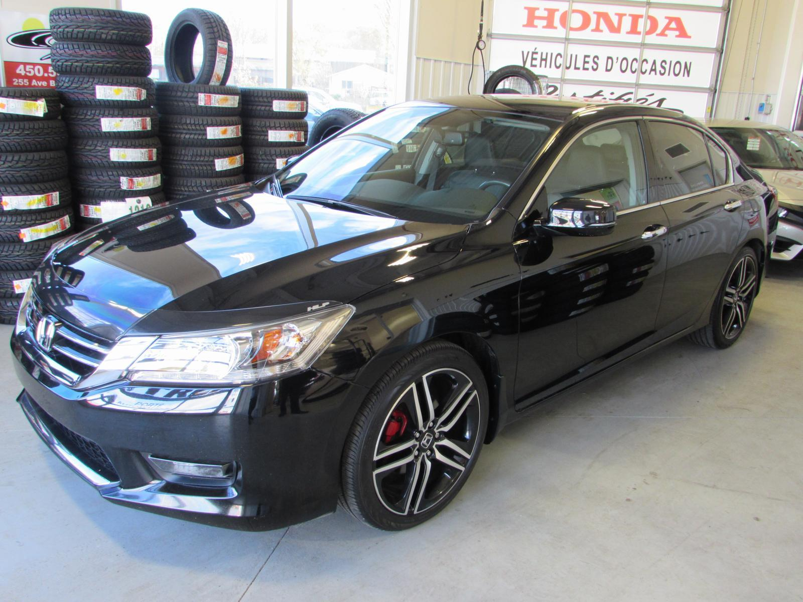 honda accord touring v6 2014 occasion vendre lachute chez honda lachute. Black Bedroom Furniture Sets. Home Design Ideas