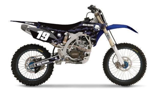 Yamaha Kit graphique metal mulisha yz250f 10-13 2010