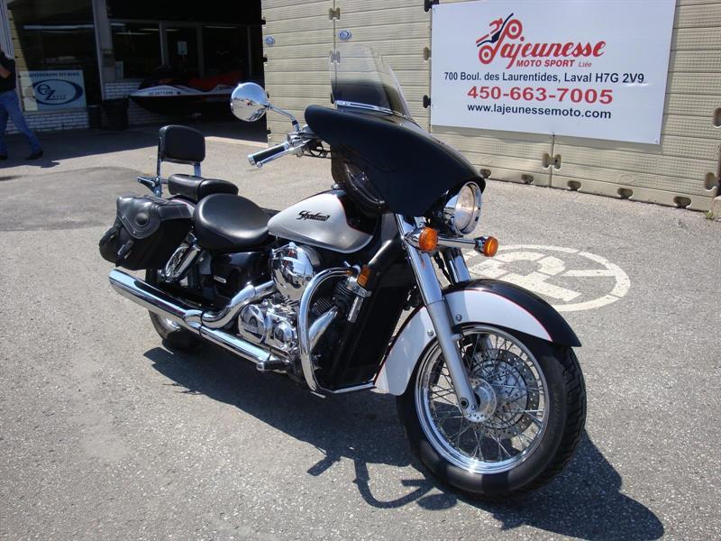 honda shadow 750 aero 2004 occasion vendre laval lajeunesse moto sport lt e. Black Bedroom Furniture Sets. Home Design Ideas