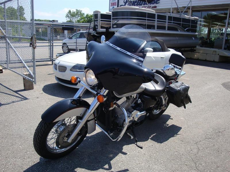 honda shadow 750 aero 2004 occasion vendre laval chez lajeunesse moto sport lt e. Black Bedroom Furniture Sets. Home Design Ideas